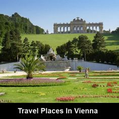 Neptune's Fountain and The Gloriette in the garden of the Schönbrunn Palace, Vienna, Austria Innsbruck, The Places Youll Go, Places To Go, Europe Centrale, Hallstatt, Voyage Europe, Travel Channel, Free Travel, Eastern Europe