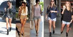 shorts jeans e bota - Pesquisa Google