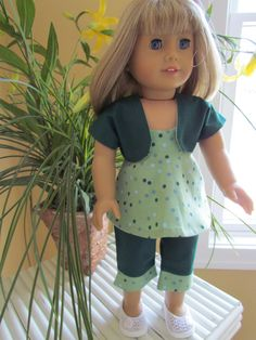 ONE ONLY American Girl Doll Sundress with Capri by EnhancedImage, $12.00