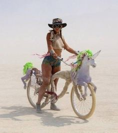 Image result for decorating your bike for burning man