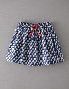 Retro Print Skirt- Inspiration for Skirt for (girl)- TOO CUTE!