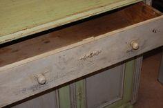 antique cabinet/buffet
