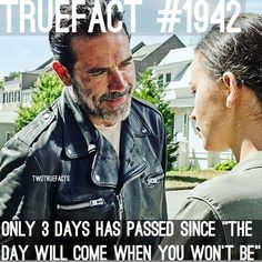 So Rick really wasn't kidding when he said Negan was early...