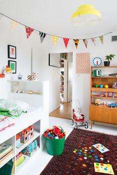 Eclectic kids room