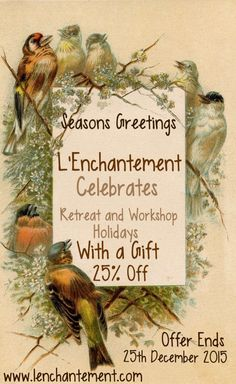 An offer for all to celebrate our launch...#newbeginnings #retreat #yoga #felting #workshops #handmade #harmony #france #faeriemagic