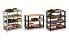Groupon - Furinno 3- or 4-Tier Shoe-Shelving Rack. Multiple Styles from $ 16.99–$26.99. in Online Deal. Groupon deal price: $16.99