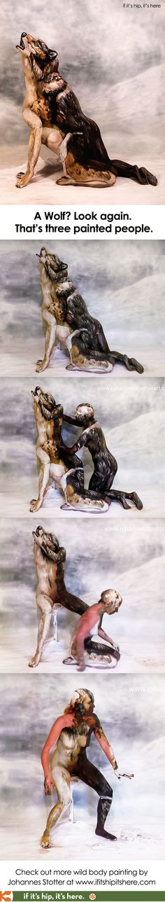 A look at the body painting of Johannes Stotter at http://www.ifitshipitshere.com/bodypainting-johannes-stotter/