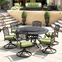 renaissance 9 pc. outdoor dining set | Renaissance Outdoor Patio Dining Set 9 PC Free Shipping New | eBay