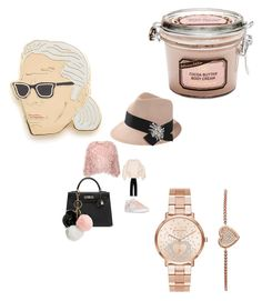 """""""#pinkmood#setbyfranerli"""" by fra-nerli on Polyvore featuring Marques'Almeida, STELLA McCARTNEY, adidas, Hermès, GUESS, Brunello Cucinelli, Michael Kors and Georgia Perry"""