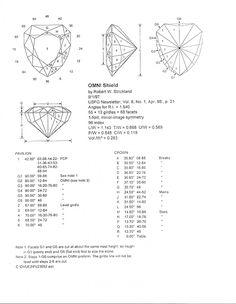 gemstone emerald cut index and degrees - Google Search Stone Cuts, Jewelry Design, Jewelry Ideas, Gemstone Jewelry, Jewelry Making, Gemstones, Graphics Fairy, Pattern, Emerald Cut