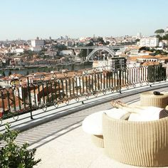 Widely regarded as one of the best hotels in Porto, The Yeatman Hotel is a luxury haven for wine lovers with the best views of Porto from every hotel room. Book direct with best rate guaranteed. Michelin Star, Best Rated, Hotel Spa, Nice View, Best Hotels, Rooftop, Portugal, Dolores Park, Bridge