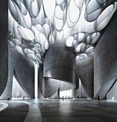 Best Ideas For Architecture and Modern Design : – Picture : – Description Work / Mir – Bergen, Norway Organic Architecture, Light Architecture, Futuristic Architecture, Beautiful Architecture, Contemporary Architecture, Architecture Details, Interior Architecture, Chinese Architecture, Modern Interior