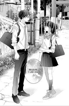 Best Shoujo Manga, Manga Anime, Yandere Manga, Anime Couples Manga, Manhwa Manga, Cute Anime Couples, Manga Couple, Anime Love Couple, Anime Character Drawing