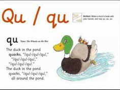 ▶ JOLLY PHONICS qu song from Read Australia - Having FUN with phonics - YouTube