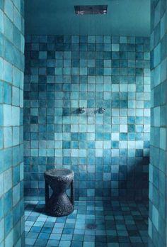 bleu turquoise, décoration, maison, paradisiaque