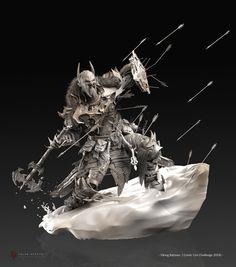 http://www.artstation.com/artwork/viking-batman-comic-con-challenge-2014