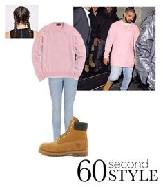 """""""Untitled #35"""" by kyla-ramsey ❤ liked on Polyvore featuring New Look, Timberland, Gucci, men's fashion, menswear, DRAKE, views and 60secondstyle"""