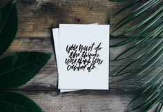 Eleanor Roosevelt Prints, Hand Lettered Art, Calligraphy Print, Wall Art, Modern Calligraphy, INSTANT DOWNLOAD by PosiPrints | Positive Prints Studio | Hand Lettering | Brush Lettering