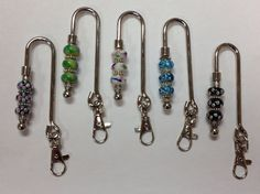 Purse Key Finders - Attach your keys to the hook, Keys are easily available! by AnnPedenJewelry on Etsy