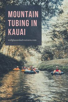 Tubing with Kauai Backcountry Adventures - All you need to know for a Mountain Tubing excursion through the hand-dug irrigation tunnels on the former Lihue Plantation in Kauai - Kauai Vacation, Hawaii Honeymoon, Hawaii Travel, Dream Vacations, Vacation Spots, Travel Usa, Italy Vacation, Honeymoon Bikini, Travel Trip