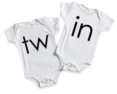Twin onesies, mom of twins, matching clothing set,pregnancy announcement, mom of boys, mom of girls,twins, matchinf clothes,mom of multiples