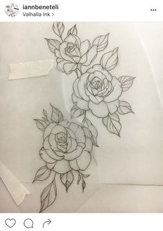 Elbow piece #RoseTattooIdeas
