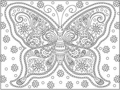 #butterfly #adultcoloringpages #coloringpage #abstract #coloring