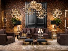 Eichholtz Interiors | Projects | Arte wallcovering