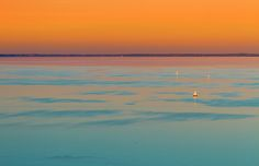 Colorful sunset over the lake and sailboats Famous Places, Hungary, Travel Photos, Airplane View, Fine Art America, Sunset, Beach, Water, Prints