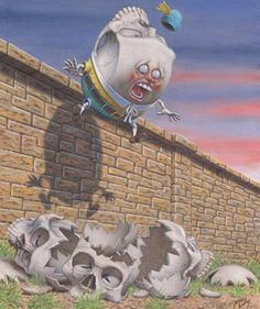 Skulldy Dumpty_By Artist Robert Williams