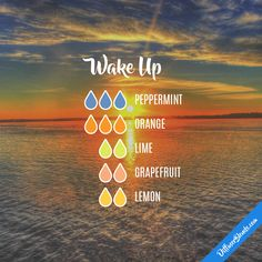 Wake up essential oil