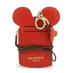 03ec30aea624 Women Cute Animal Shape Card Holder Wallet Purse Neck Bag Disney Diy