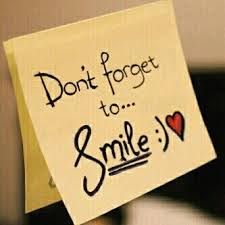 to smile - Even when I don't want to