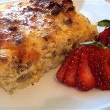 Main Dish Casserole Recipes: Sausage Casserole