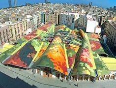 EMBT Miralles Tagliabue Arquitectes Associats / Santa Caterina Market / Barcelona 2005