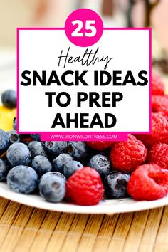 Meal prep doesn't have to be super hard and require a ton of time and work. Here are some healthy snack ideas that you can prep ahead of time to help you stay on track with clean eating. Easy Weight Loss Tips, Best Weight Loss, How To Lose Weight Fast, Healthy Facts, Workouts For Teens, Workout Guide, Health And Fitness Tips, Workout For Beginners, The Cure
