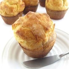 Sourdough Popover Recipe from King Arthur Flour -- I've made these many times, and they always get rave reviews.  Great way to use up extra sourdough starter!