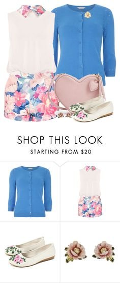 """Spring fling"" by joyfulmum ❤ liked on Polyvore featuring Dorothy Perkins, Les Néréides and Rina Limor"