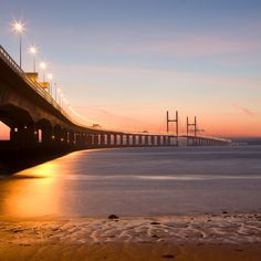 The Severn Bridge - this takes me home to the Land of my Fathers <3