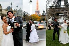 Casar em Paris com pouco dinheiro