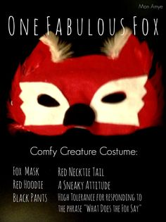 Halloween DIY: Comfy Creature Costumes