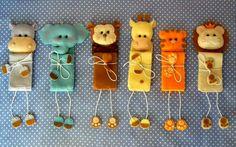 Marcadores de livro Baby Crafts, Felt Crafts, Diy And Crafts, Crafts For Kids, Felt Bookmark, Crochet Bookmarks, Craft Projects, Sewing Projects, Book Markers