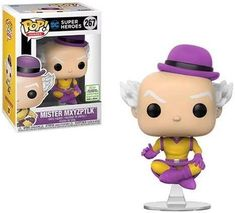 DC Super Heroes: Mister Mxyzptlk 267 ECCC Exclusive w Pop Protector . Condition is New. Shipped with USPS First Class Package. Comes in a pop Protector and will be packaged with care. Pop Vinyl Figures, Vinyl Toys, Funko Pop Vinyl, Batman Figures, Action Figures, Otaku, Superman Comic Books, Harry Potter, Figurine Pop
