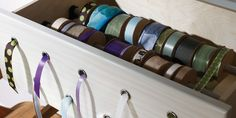 Craft Room...Ribbon Drawer - this is the best! California Closets     Last Name      What is your last name?      Email Address      What is your email address?    ...