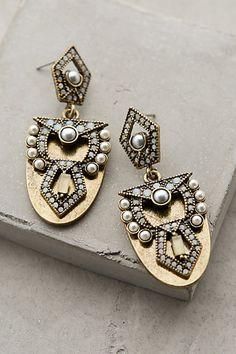 Anthropologie CASTELO DROPS #anthrofave #earrings #jewelry