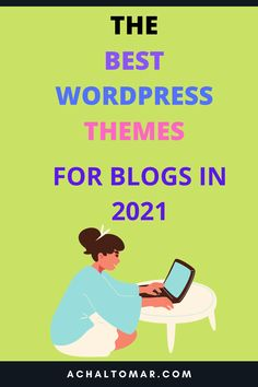 The best WordPress themes for bloggers in 2021. Design and customize your WordPress blog with the best themes available and suited for your blog. These WordPress themes are user-friendly and can be used to design beautiful-looking blogs. No coding skills needed to use these themes. #blogging #wordpress #wordpressthemes #bloggingforbeginners #blogging101 #startablog Online Marketing, Social Media Marketing, Digital Marketing, Make Money Blogging, How To Make Money, Cool Themes, Best Wordpress Themes, Blogging For Beginners, Pinterest Marketing