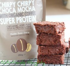 This quick and simple mocha protein brownie recipe is definitely one for the coffee lovers! They are gluten free, refined sugar free, low FODMAP and vegan! Sugar Free Baking, Dairy Free, Gluten Free, Protein Brownies, Fodmap Recipes, Low Fodmap, Coffee Lovers, Brownie Recipes, Healthy Baking