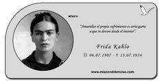 Frida Kahlo - Pintora Mexicana.
