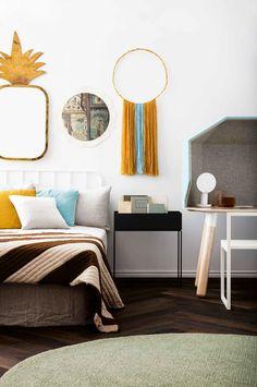 Trendy house beautiful magazine bedrooms inside out 23 Ideas Bedroom Styles, Bedroom Colors, Beautiful Bedrooms, Beautiful Homes, House Beautiful, Interior Stylist, Interior Design, Modern Bedroom Decor, Bedroom Ideas