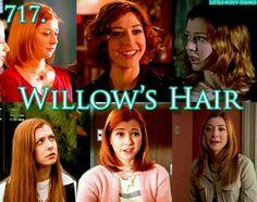 She had the cutest hair styles.